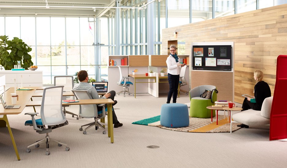 You Need To Design Offices For Next Generation Says Haworth - Architecture office furniture