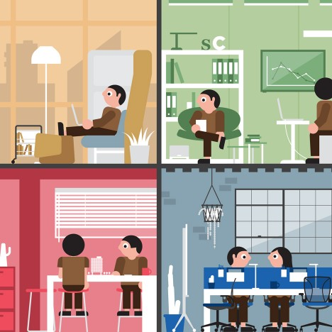 """Architecture and design """"can support or even change company culture"""" says Haworth research"""