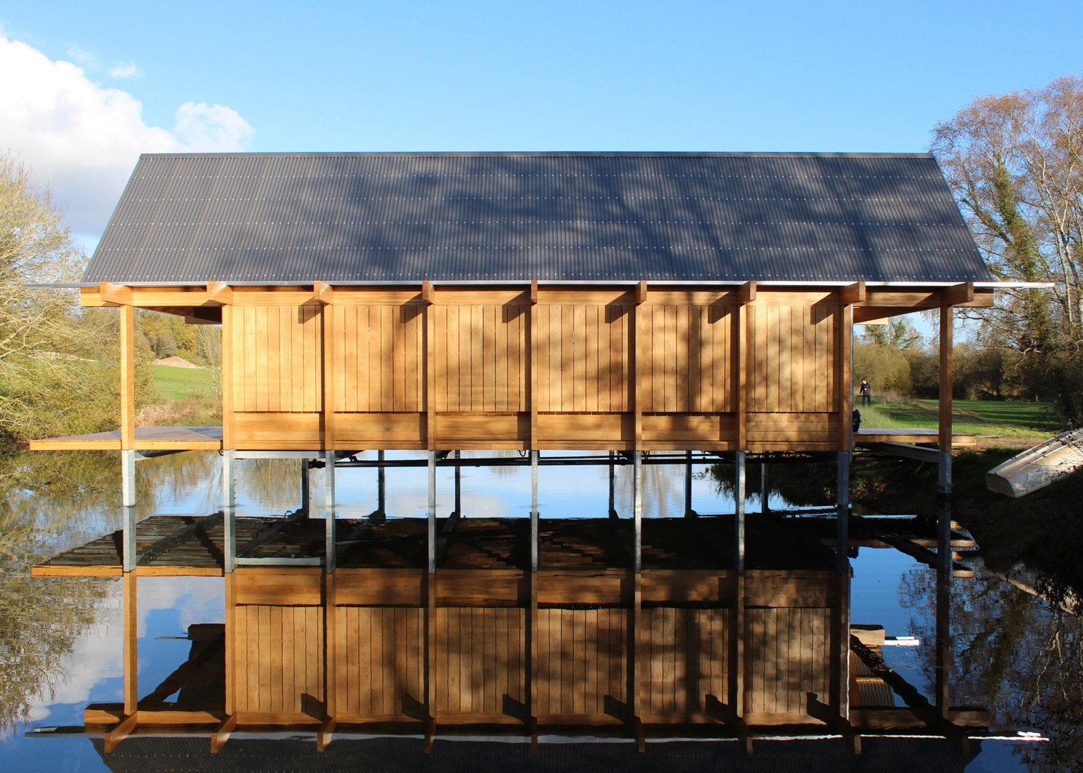 The Fishing Hut by Niall McLaughlin Architects,  Arnold Laver Gold Award & Private Winner 2015