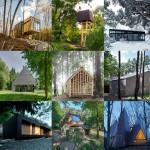 Leaf through examples of woodland buildings on Dezeen's new Pinterest board