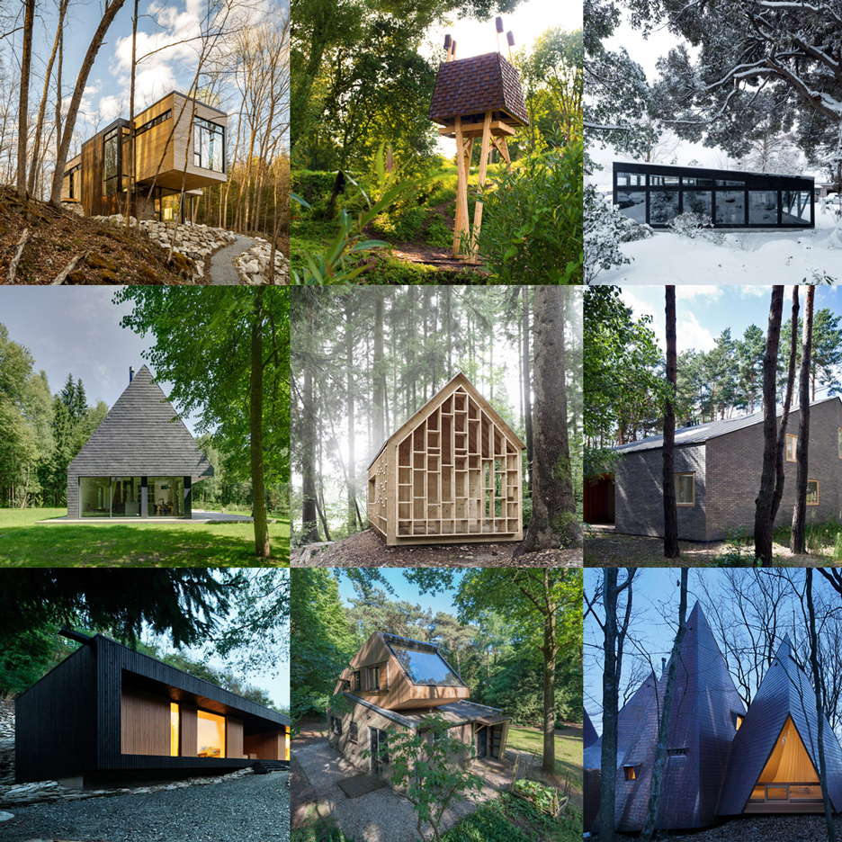 Woodland architecture features on Dezeen's new Pinterest board