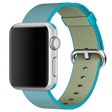 Woven straps by Apple