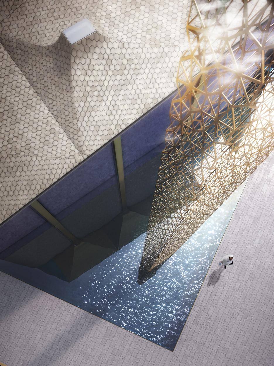 WTC Abu Dhabi Mosque by Amanda Levete