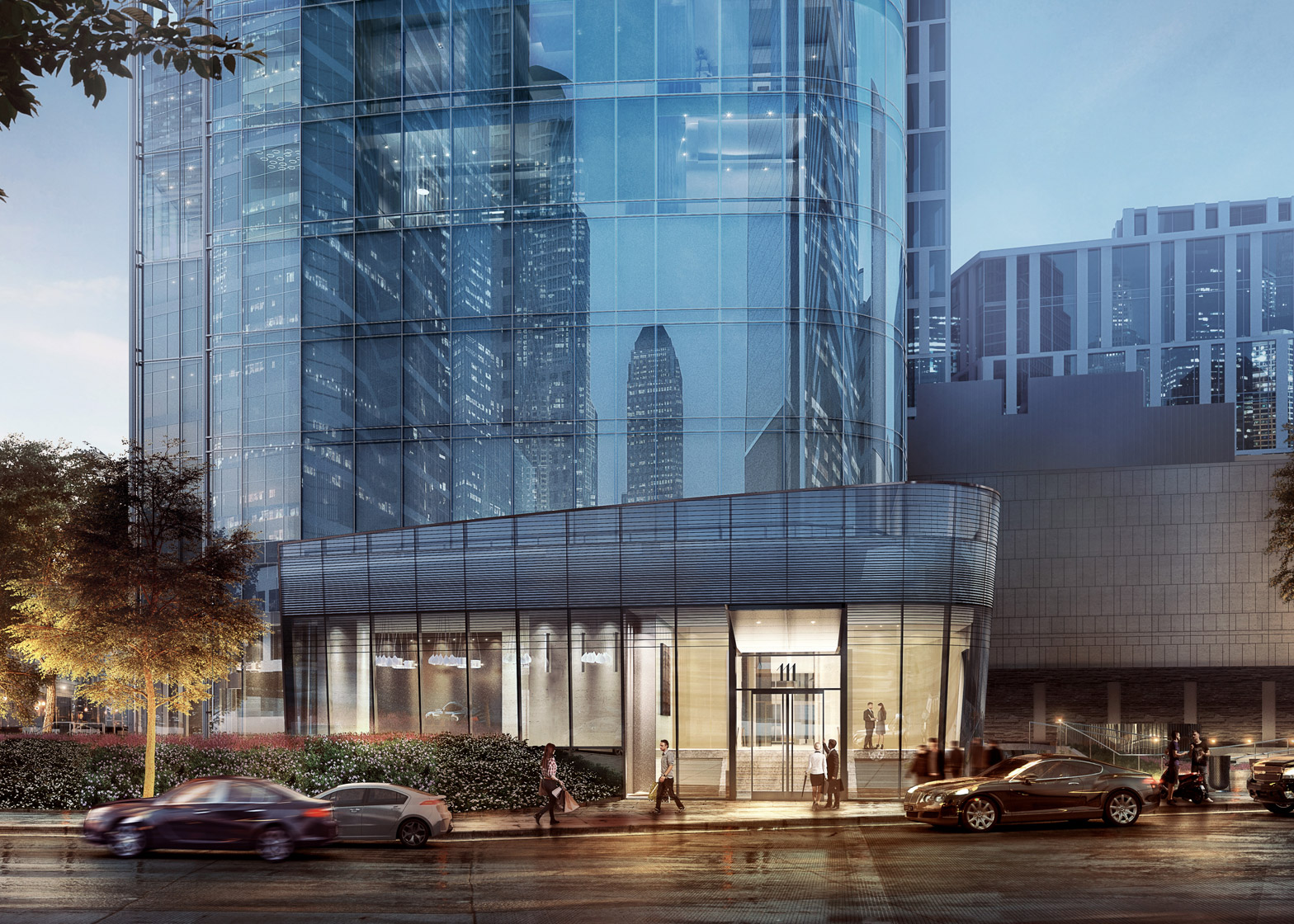 111 Murray Street by KPF and Rockwell Group architecture news New York City, USA