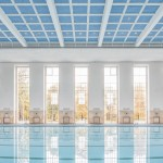 Veauthier Meyer Architects renovates Nazi-era swimming pool hall in Berlin