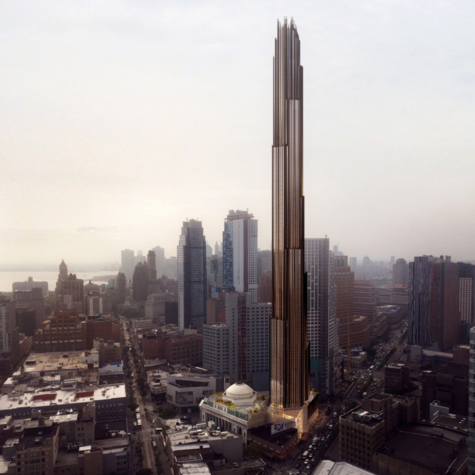 SHoP's supertall Brooklyn tower gets green light