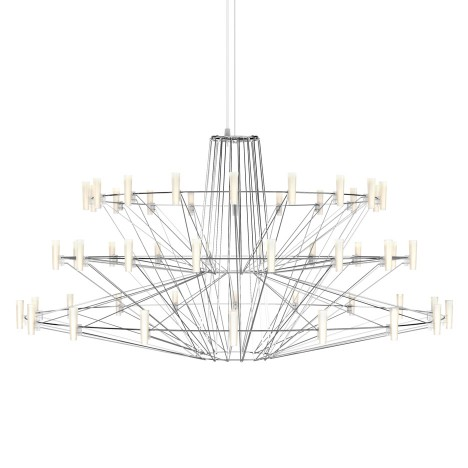 "Arihiro Miyake's Coppélia chandelier for Moooi could ""only be created with LEDs"""
