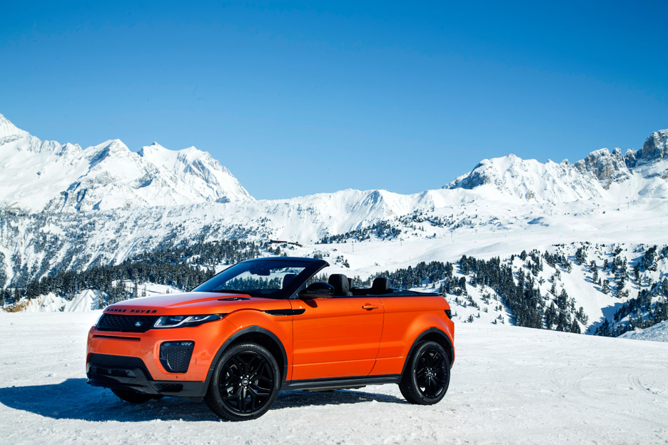 Range Rover Evoque Convertible Courchevel