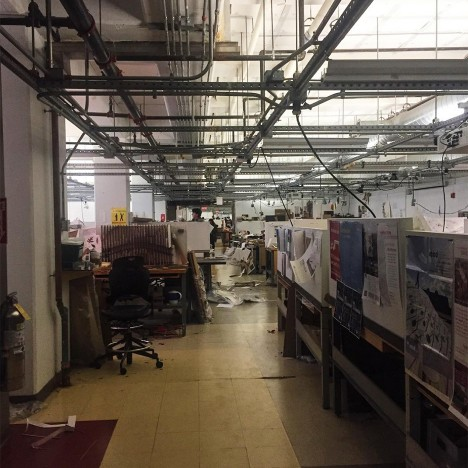 "Boston architecture students complain about ""unacceptable"" studio space"