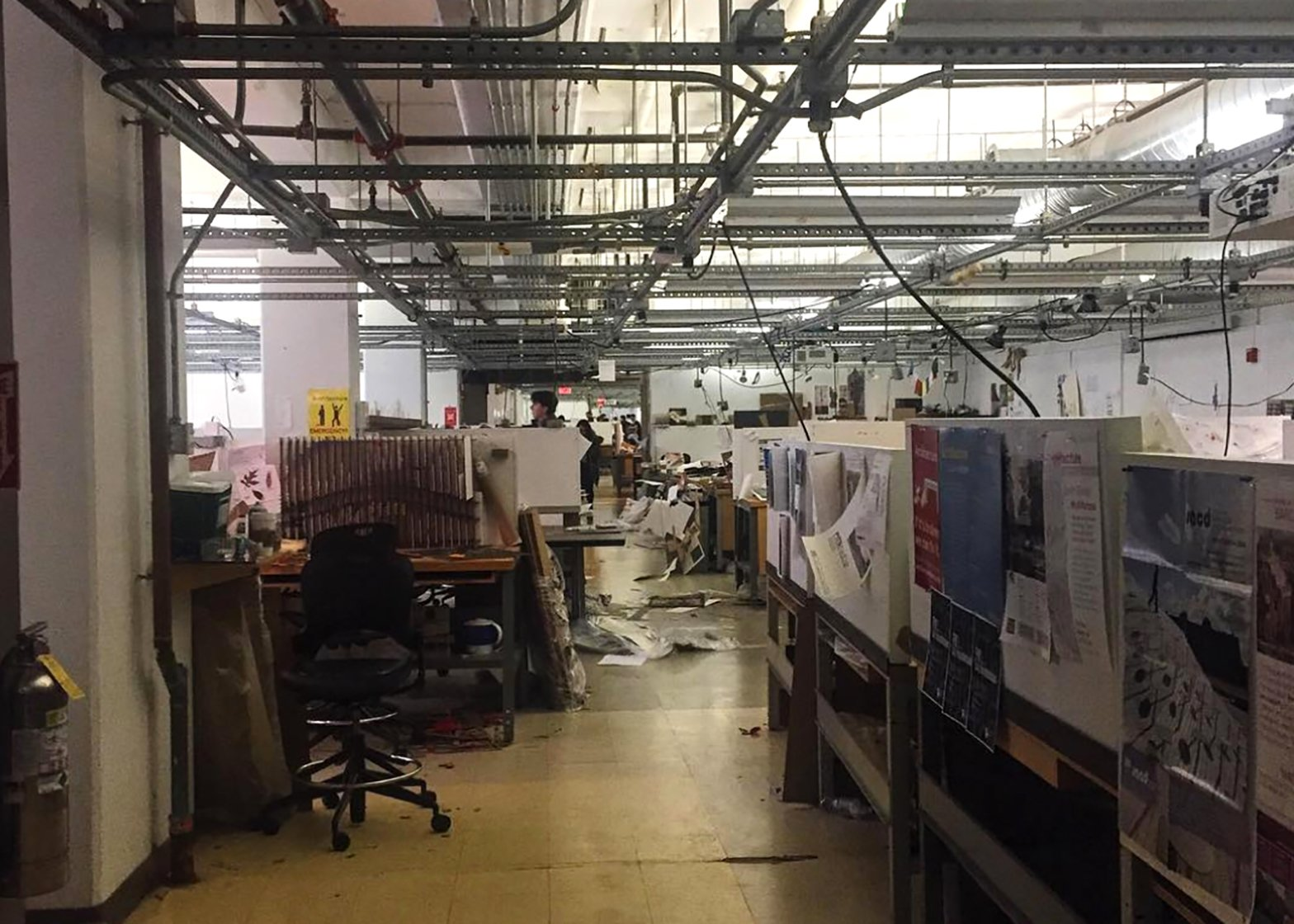 "Architecture Studio Space boston architecture students say studio space is ""unacceptable"""