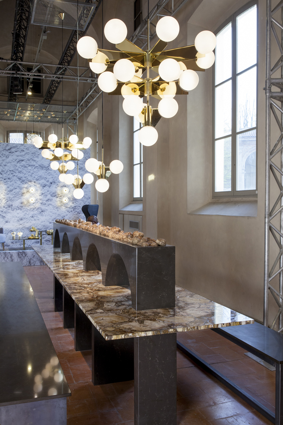 The Restaurant by Tom Dixon for Caesarstone in Milan 2016