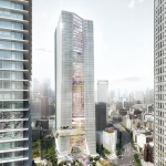 OMA reveals design for first skyscraper in Tokyo