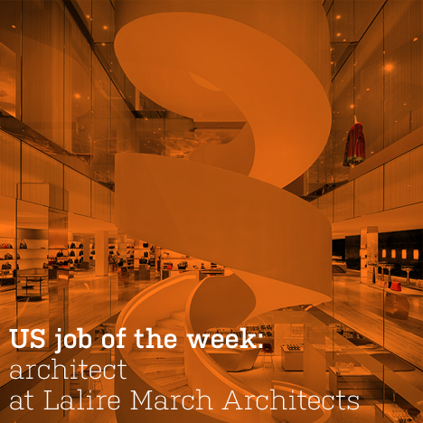 US job of the week: architect at Lalire March Architects