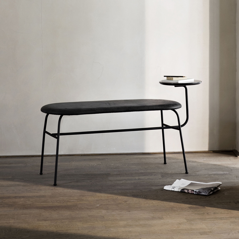 Afteroom updates collection of tubular steel furniture for Menu