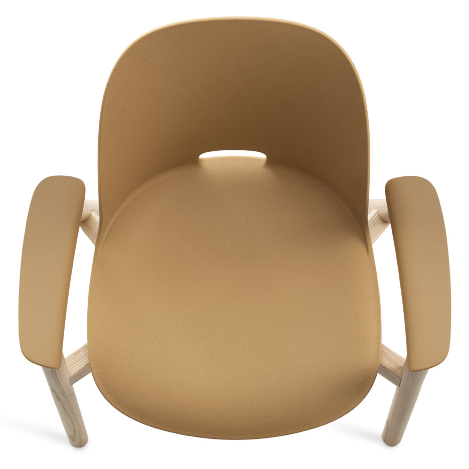 Alfi collection armchair by Emeco