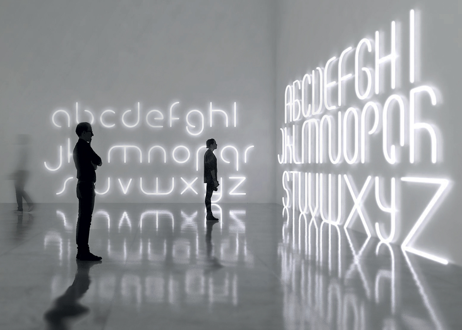 Alphabet of Lights by BIG