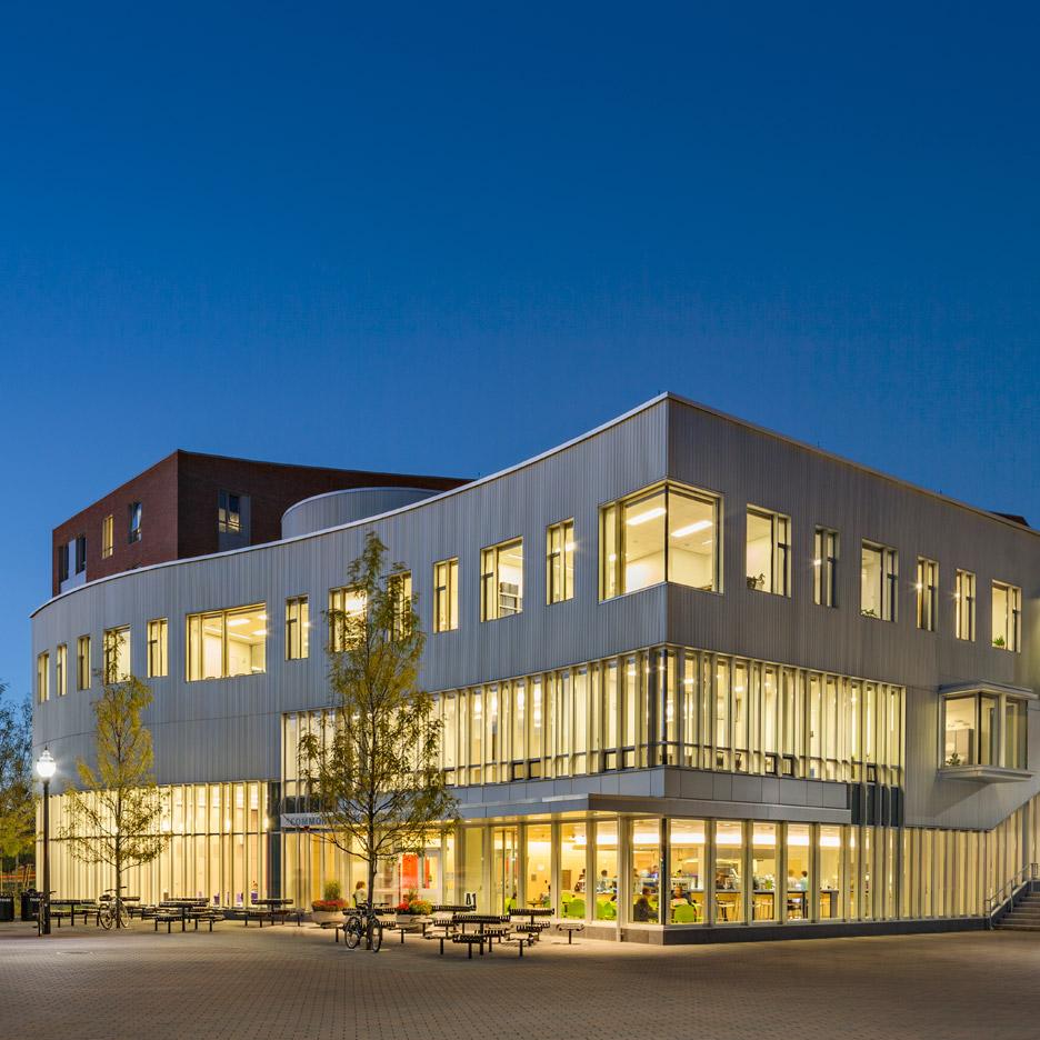 Commonwealth Honors College, University of Massachusetts; Amherst, Massachusetts by William Rawn Associates