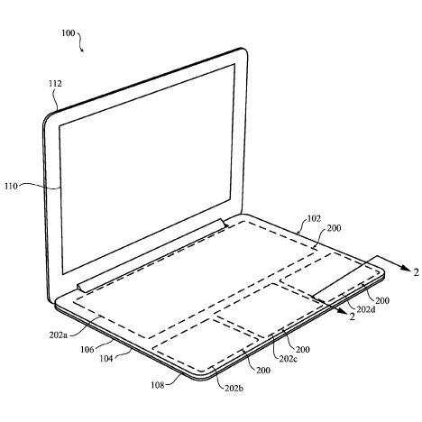 Apple files patent for customisable keyless keyboard