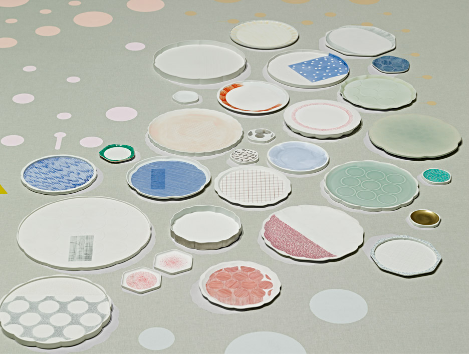 Scholten & Baijings' edition collection with Hataman Touen and the Saga Ceramics Research Laboratory