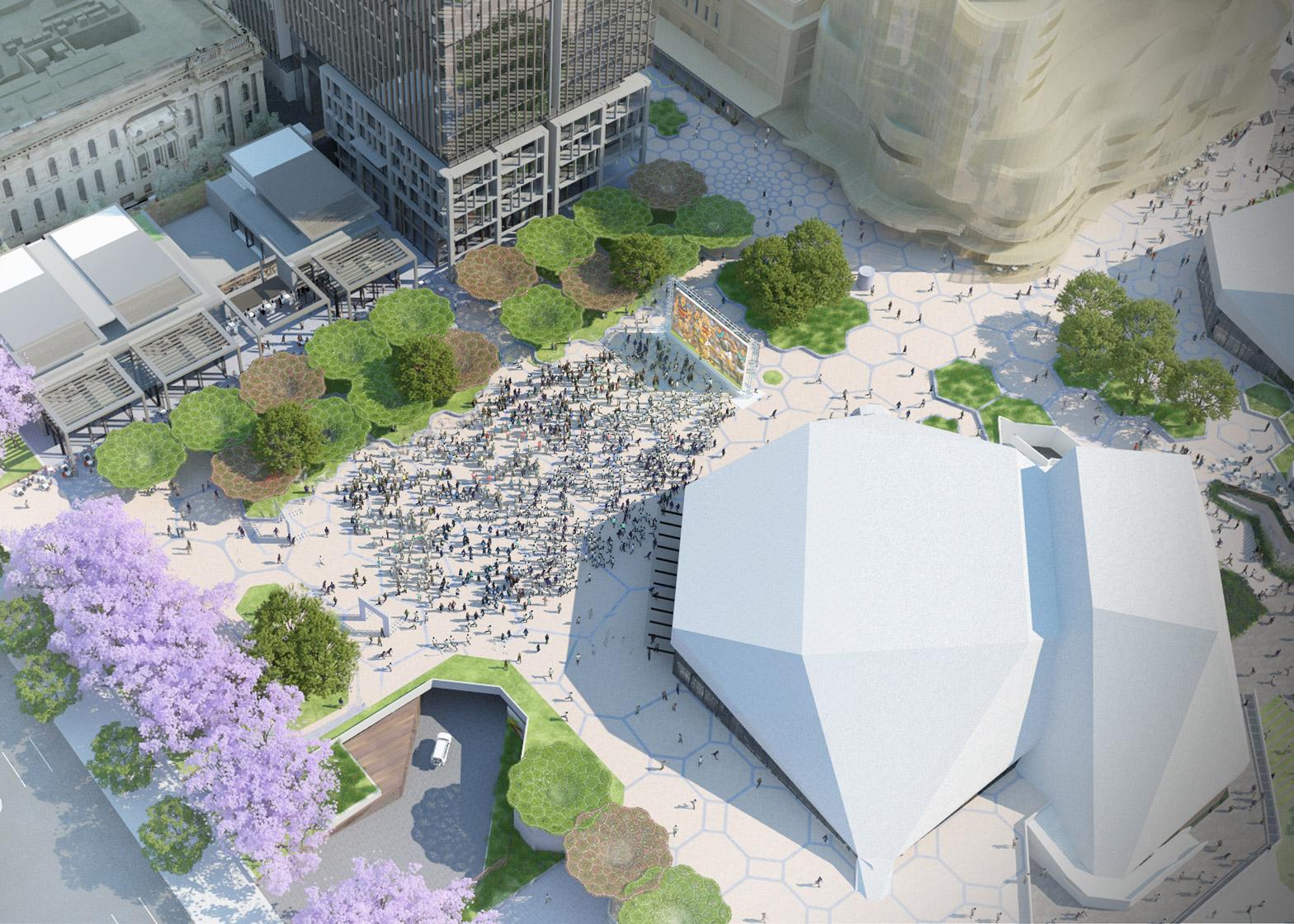 ARM Architecture's Adelaide Festival Plaza Precinct