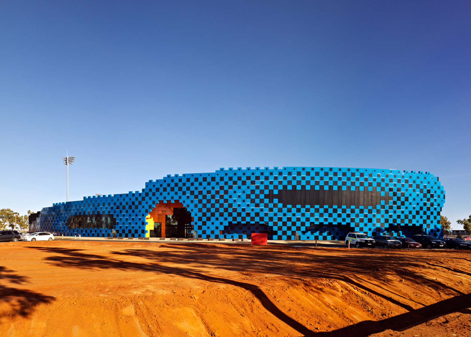 ARM Architecture's Wanangkura Stadium in Port Hedland