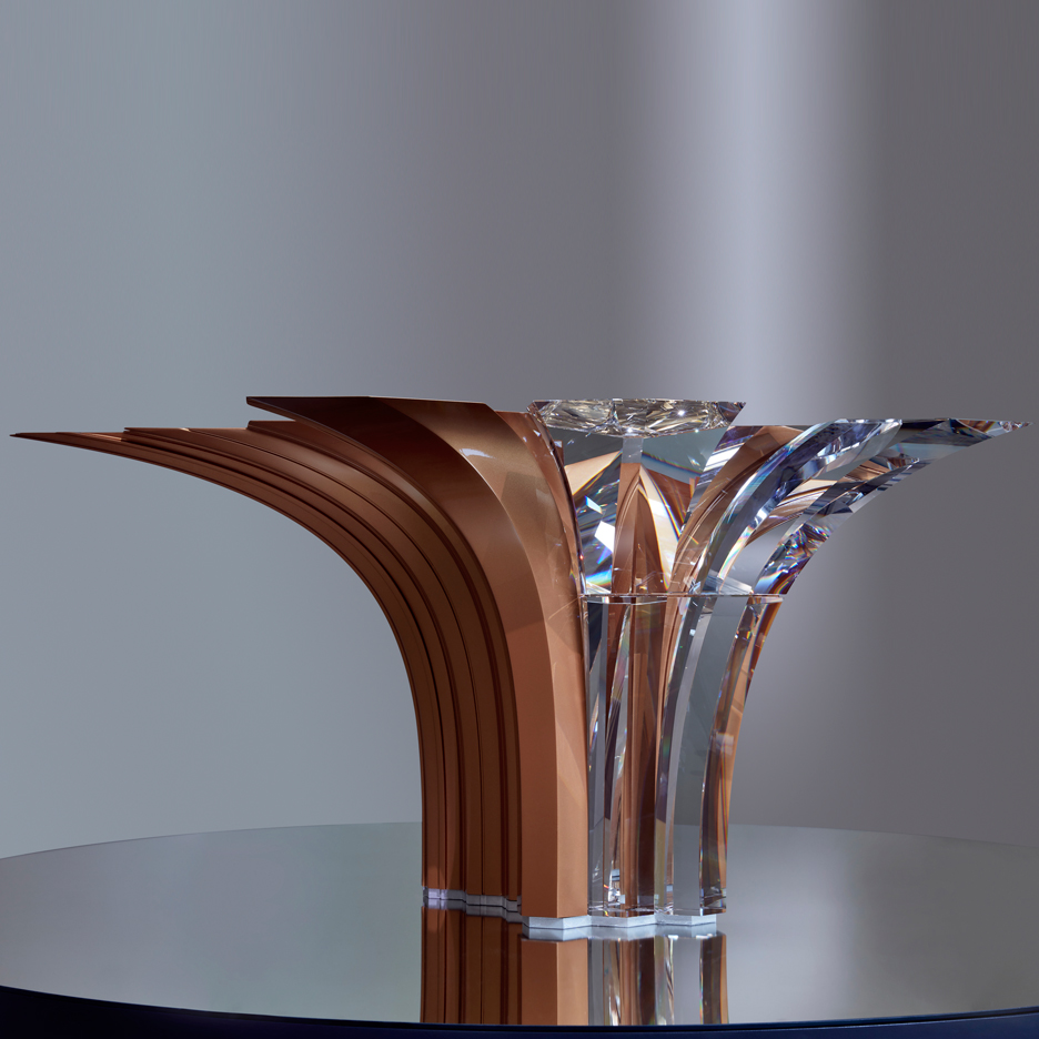 Swarovski's first homeware collection includes centrepiece by Zaha Hadid