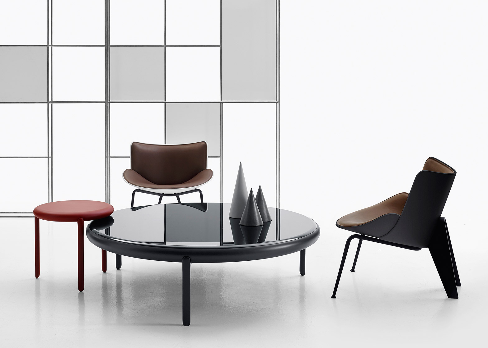 B&B Italia products by Doshi Levien and Naoto Fukasawa