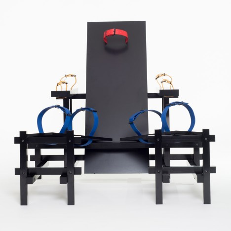 Bastiaan Buijs turns Rietveld chair into kinky BDSM device