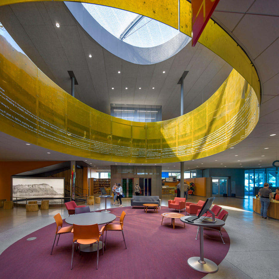 Billings Public Library; Billings, Montana by Will Bruder + Partners Ltd with O2 Architects winner of the 2016 AIA library awards