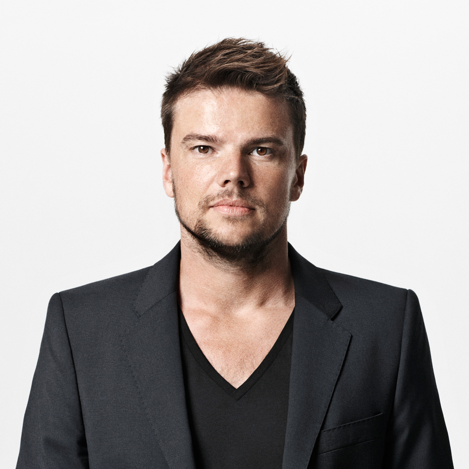 Portrait of Bjarke Ingels by Jonas Bie.