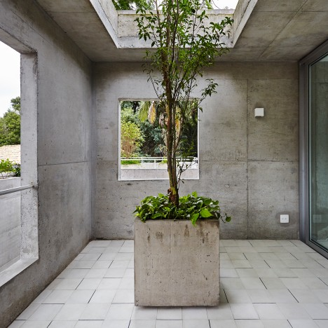 Four concrete towers make up Metro's BN House in São Paulo
