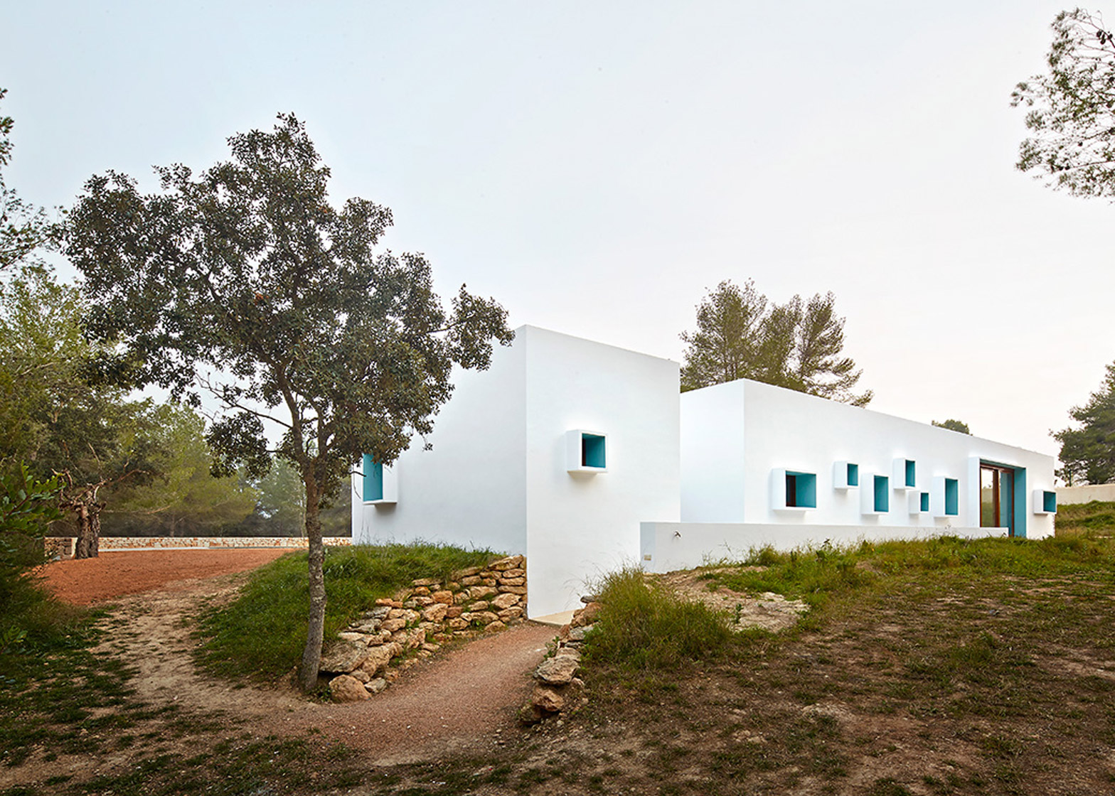 Ca na Maria by Laura Torres Roa and Alfonso Caballero residential architecture Ibiza, Spain