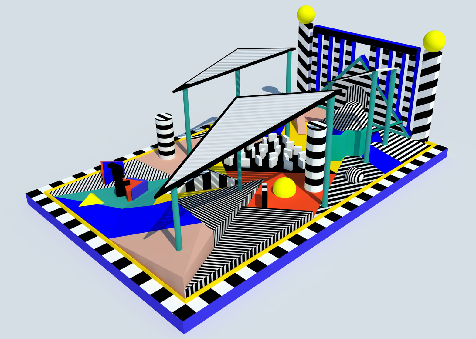 Visionary crazy golf for LDF