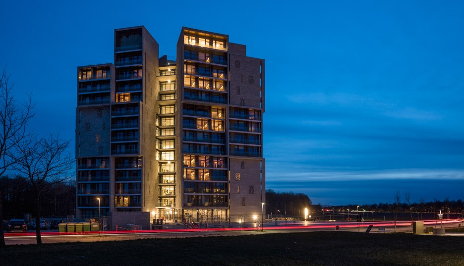 Campus Hall Student Housing by C.F. Møller Architects