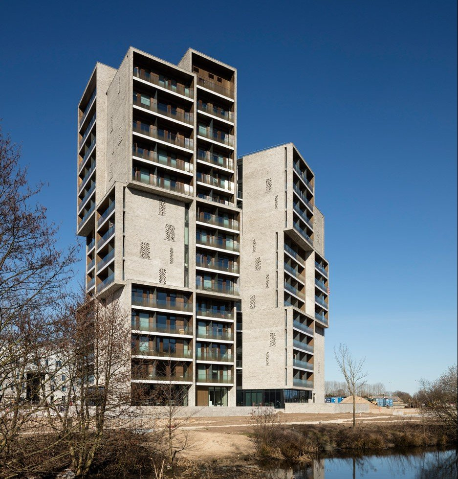 Student Apartment: CF Møller's Student Housing In Odense Is