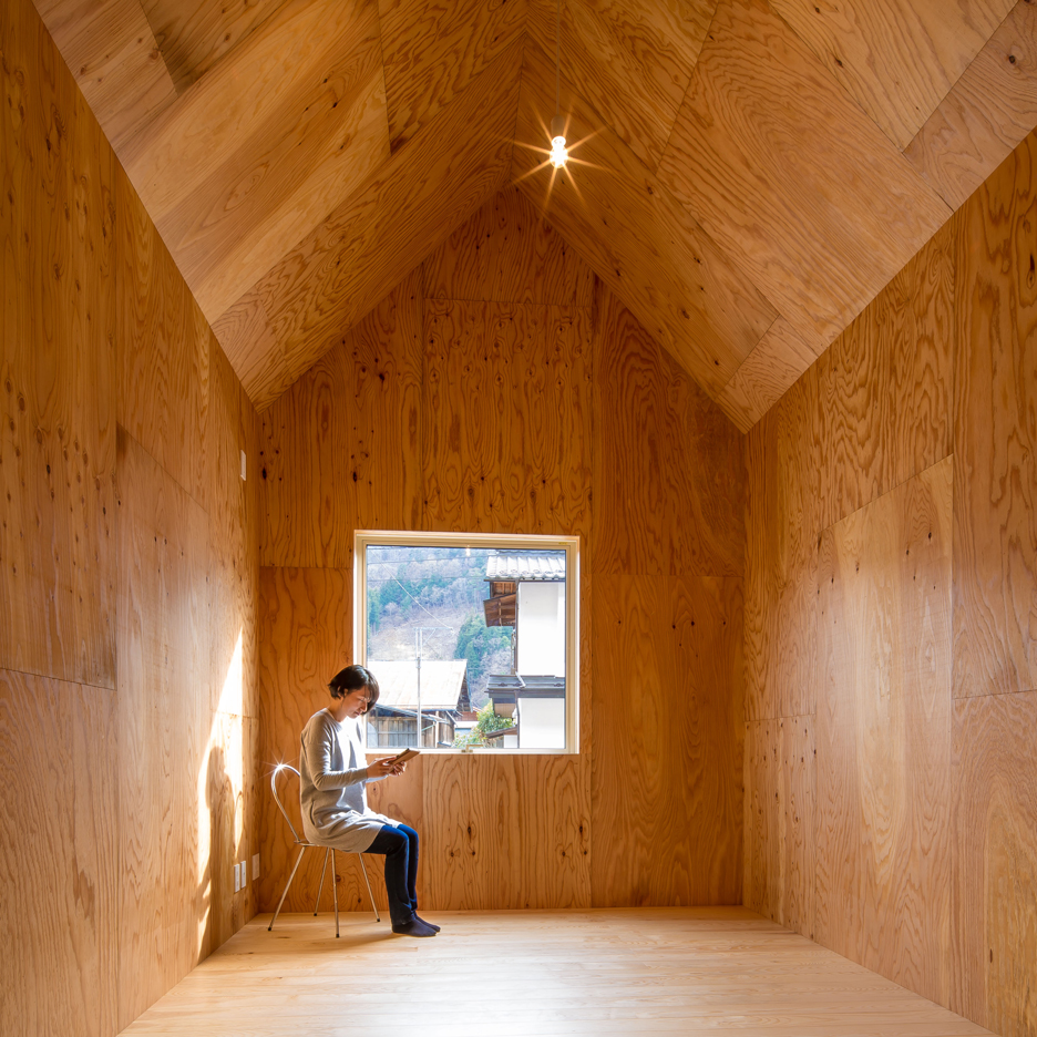 Cedar house micro homes by S Plus One in Japan