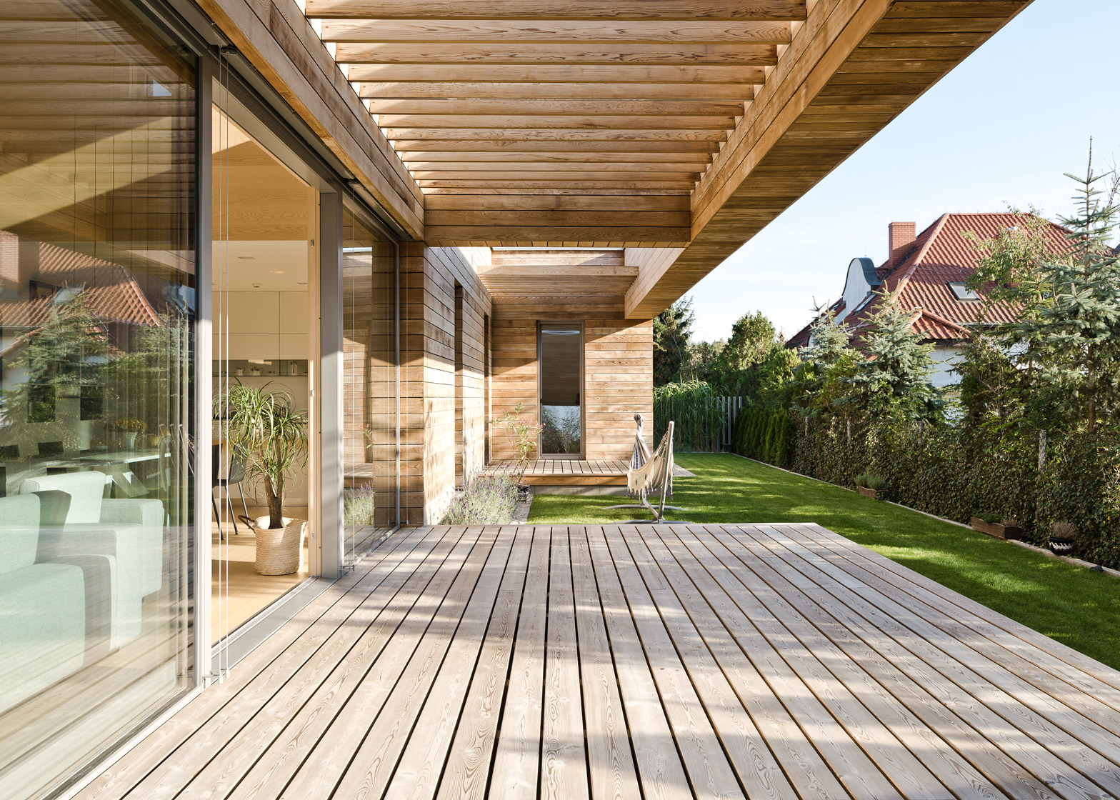 Cedar House by Pracownia Projektowa Mariusz Wrzeszcz, a residential architecture project in Poland