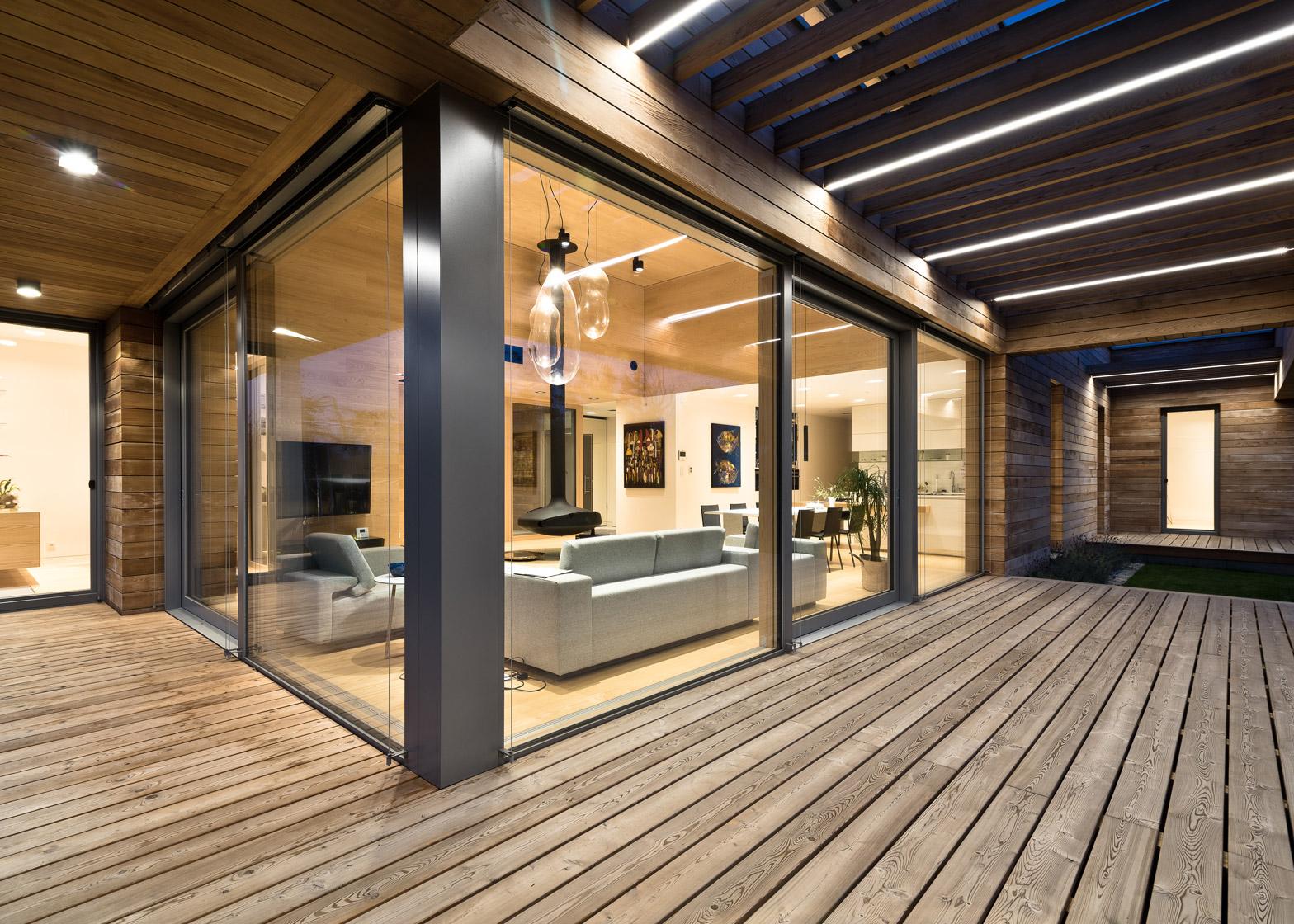 Cedar houses images