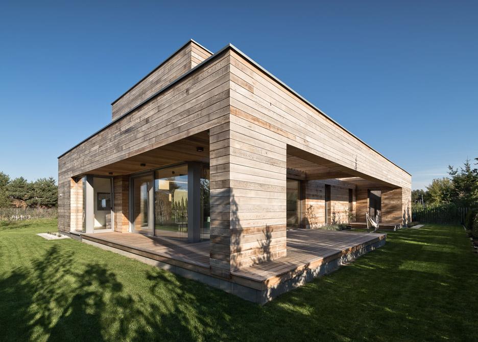Residential architecture: Cedar House by Pracownia Projektowa Mariusz Wrzeszcz in Poland