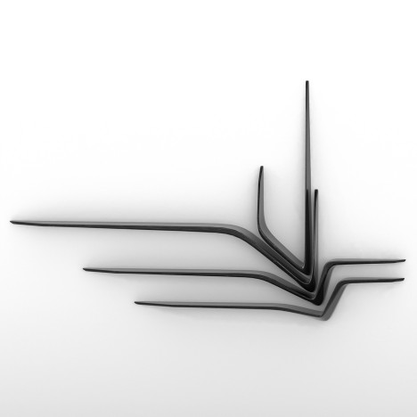 Zaha Hadid's Valle shelves feature in latest range from Citco