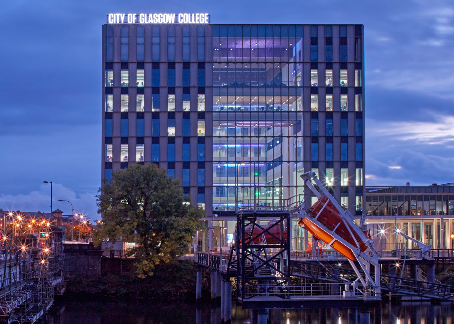 City of Glasgow College – Riverside Campus by Reiach and Hall and Michael Laird Architects