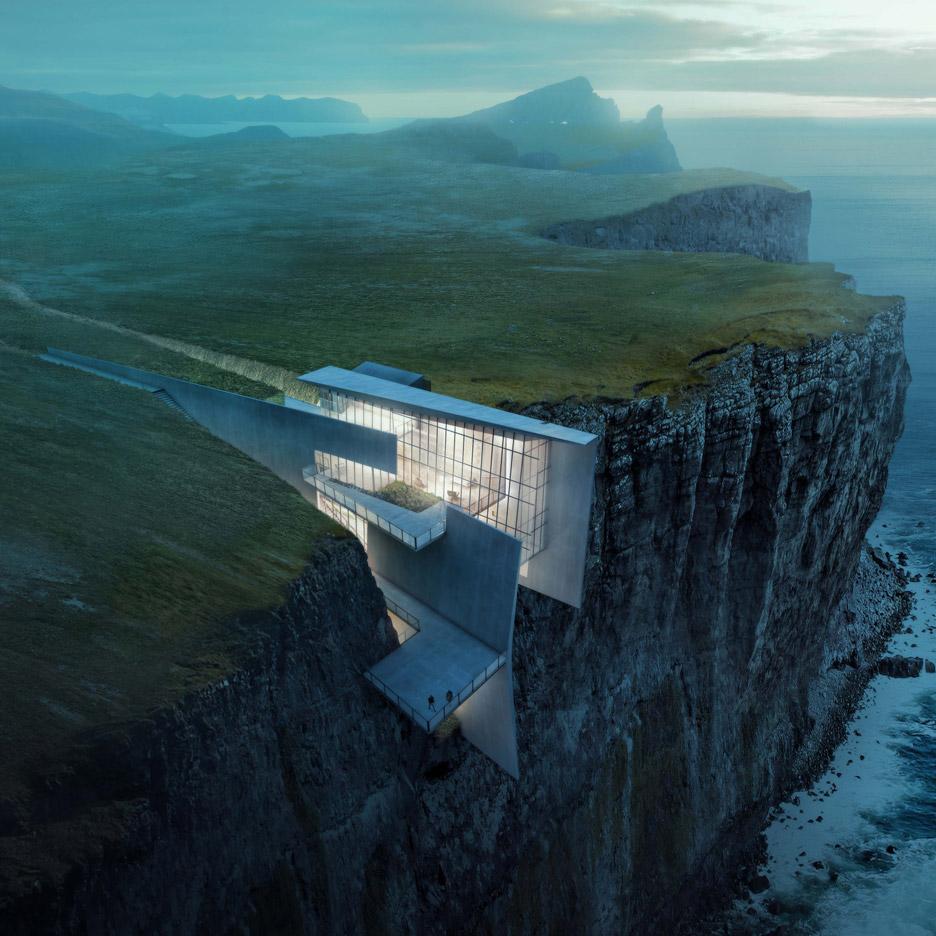 Alex Hogrefe S Conceptual Retreat Cuts Into A Remote