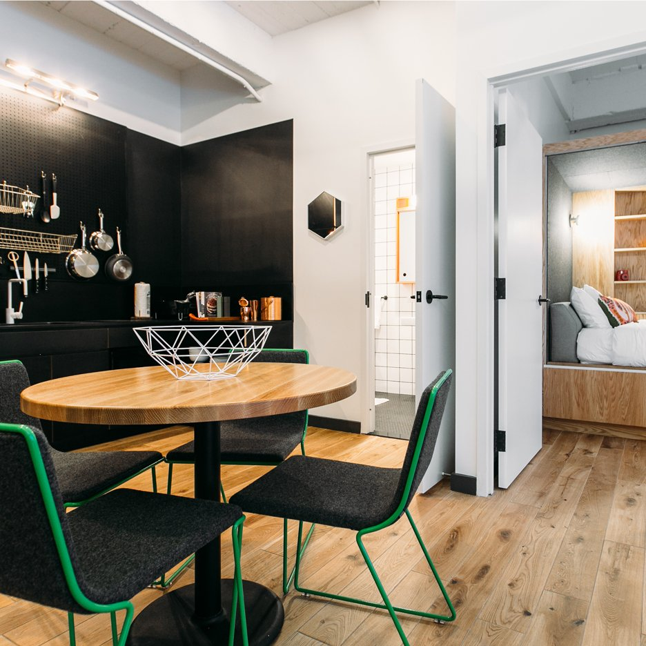 Co working company wework unveils its first co living apartments in new york sig nordal jr Interior design firms in new york city