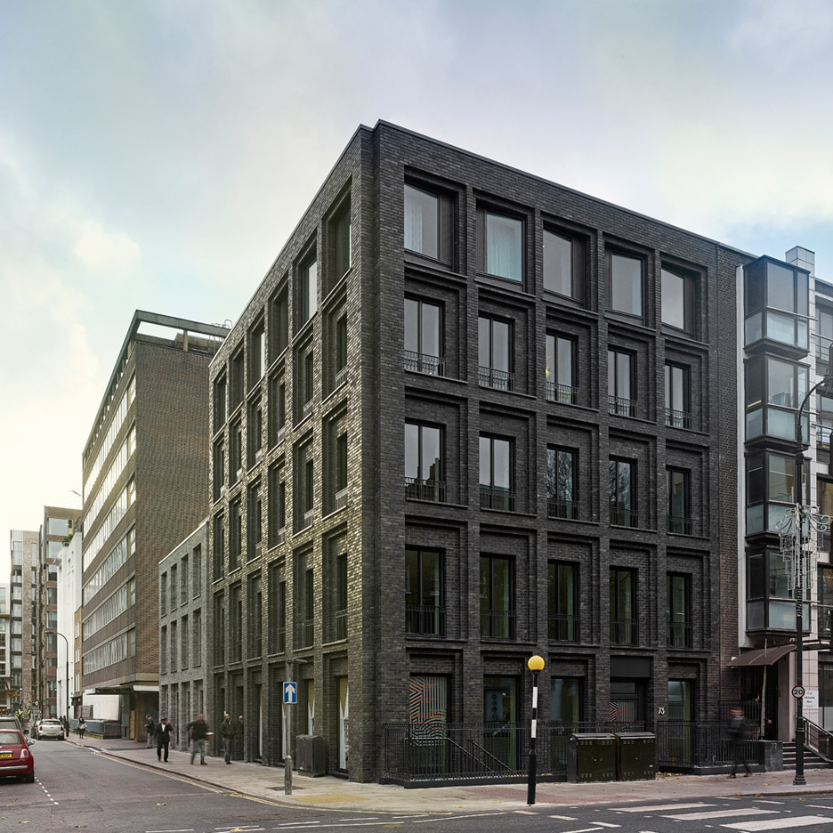 Photograph By Christopher Rudquist Corner House By DSDHA Residential  Mixed Use Brick Architecture London,