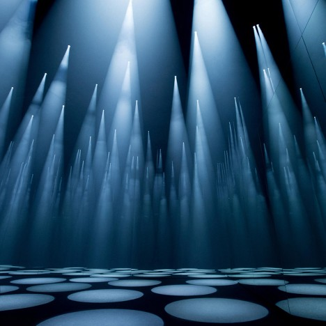COS x Sou Fujimoto Forest of Light installation