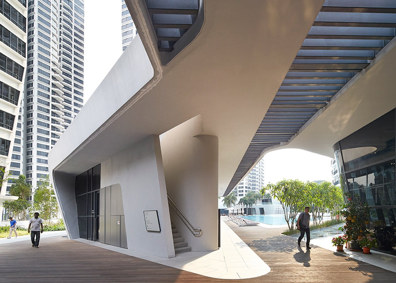 d'Leedon Singapore by Zaha Hadid