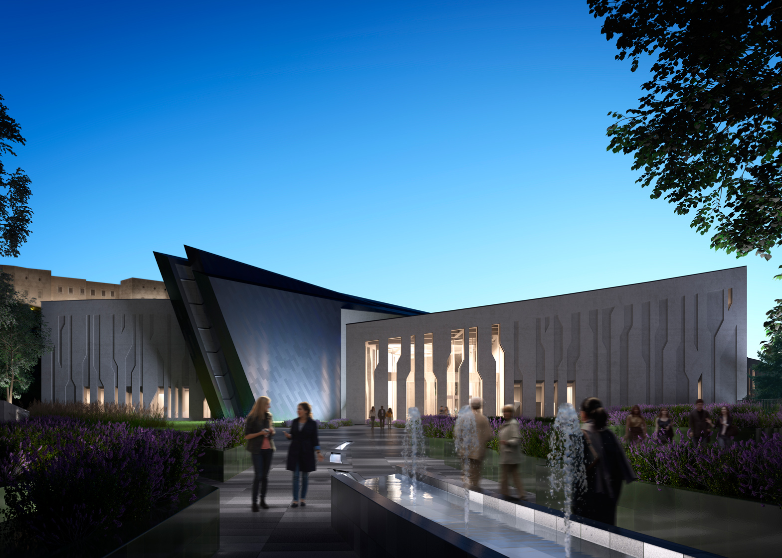 Kurdistan Museum for Iraq by Daniel Libeskind