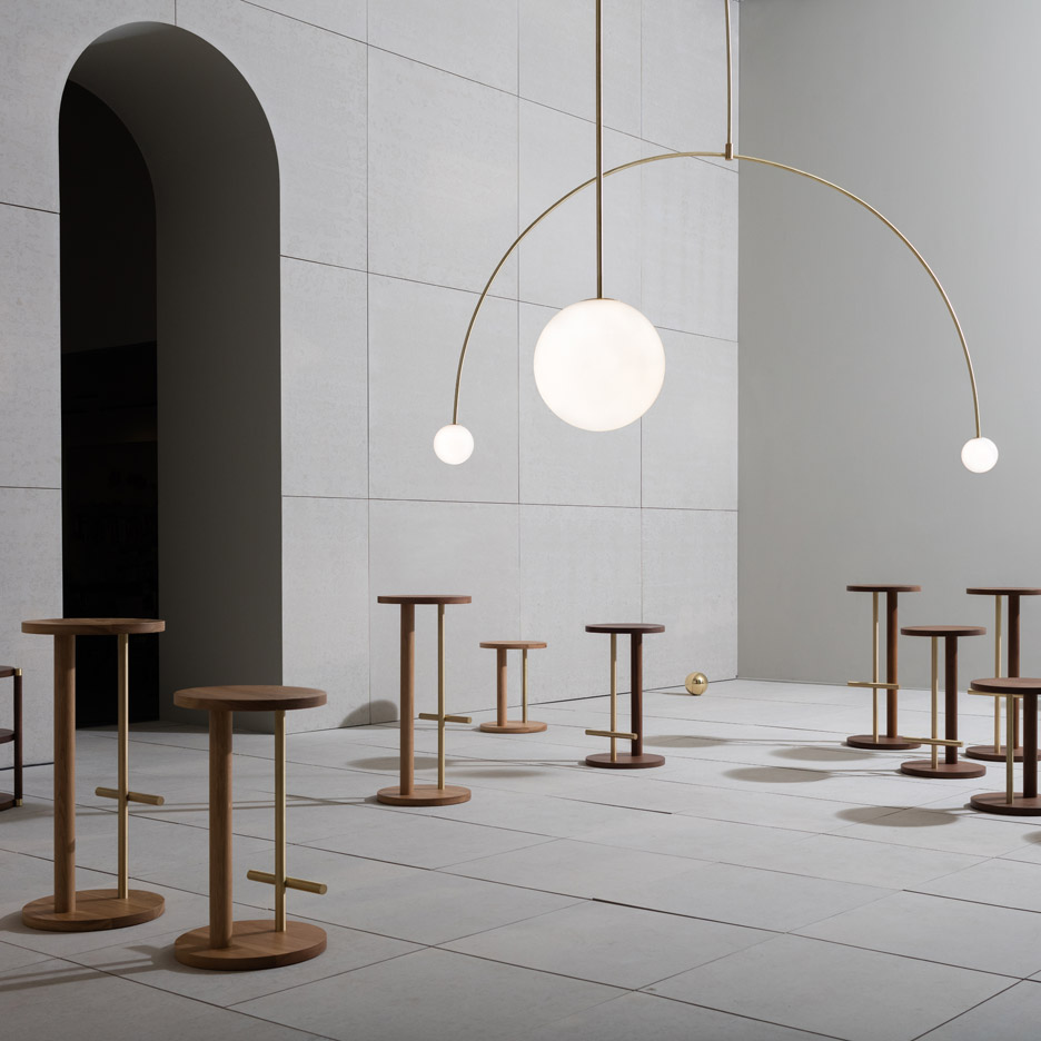 The Double Dream of Spring product exhibition by Michael Anastassiades for Herman Miller at Milan Design Week 2016