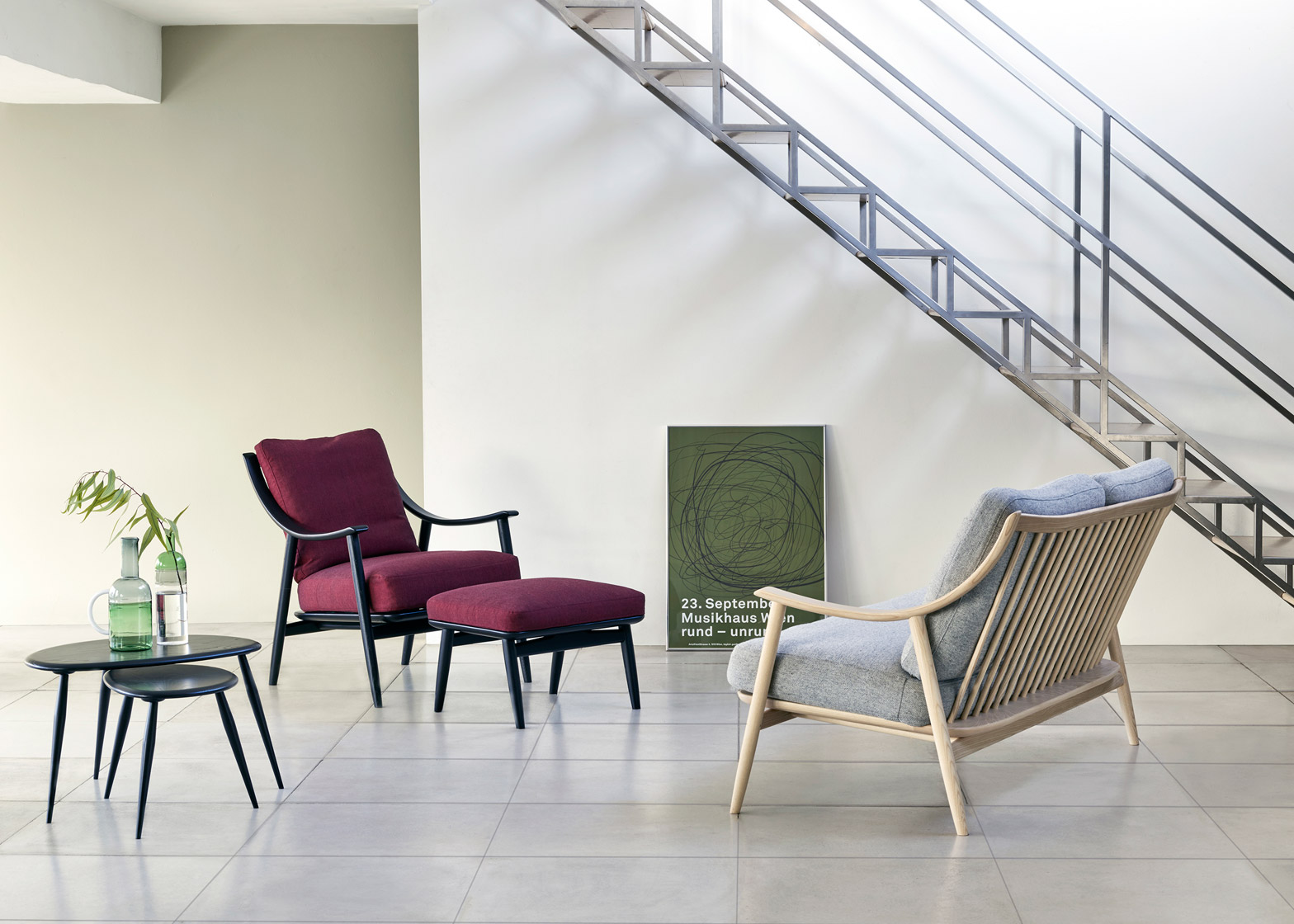 Ercol furniture launching at Milan design week 2016