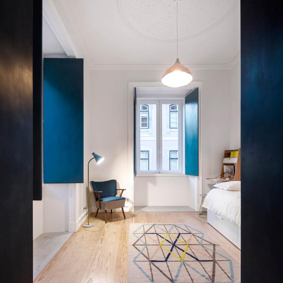 Chiado Apartment by Fala Atelier Lisbon, Portugal residential renovation